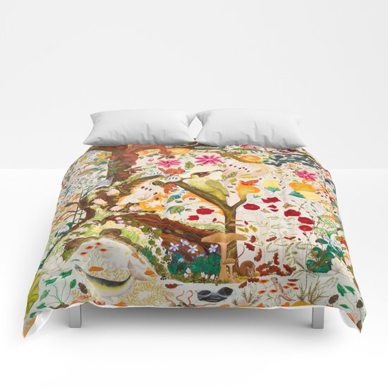 Fantasy Jacobean Forest Comforters