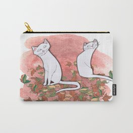 October Cats Carry-All Pouch