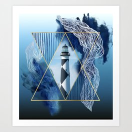 Artistic Lookout Art Print