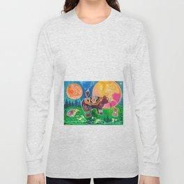 Family bear - animal - by LiliFlore Long Sleeve T-shirt