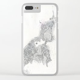 diary // milky way Clear iPhone Case