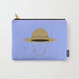 Brown park ranger hat Carry-All Pouch