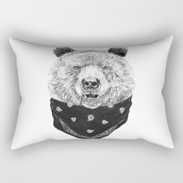 Wild bear Rectangular Pillow