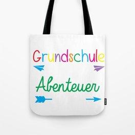 Preschool where the adventure starts, no kindergarden anymore Tote Bag