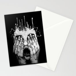 Terror Stationery Cards