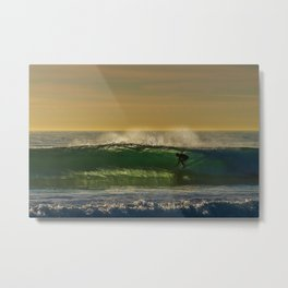The Green Room Metal Print
