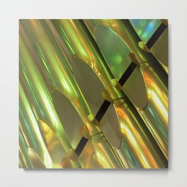 GOLDEN Metal Print