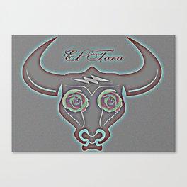 El Toro Canvas Print