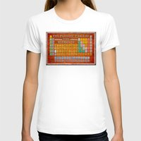 periodic table T-shirts featuring Vintage Industrial Periodic Table Of The Elements by Mark E Tisdale