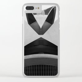 C A L A T R A V A | architect | City of Arts and Sciences Clear iPhone Case