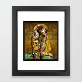 The Kiss Framed Art Print