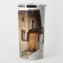 At home \\ Chamonix France Travel Mug
