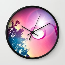Light the Light of My Vision Wall Clock