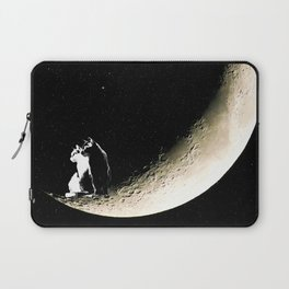Moon and cats Laptop Sleeve