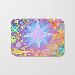INTERSTELLAR SUNSET BREAKFAST Bath Mat