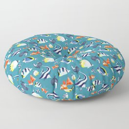 Fishes Floor Pillow