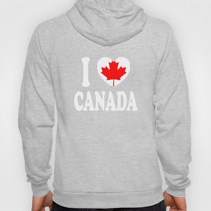 I Love Canada Hoody