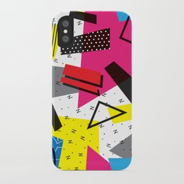 Retro 80s be that iPhone Case