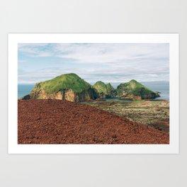 The Westman Islands, Iceland Art Print