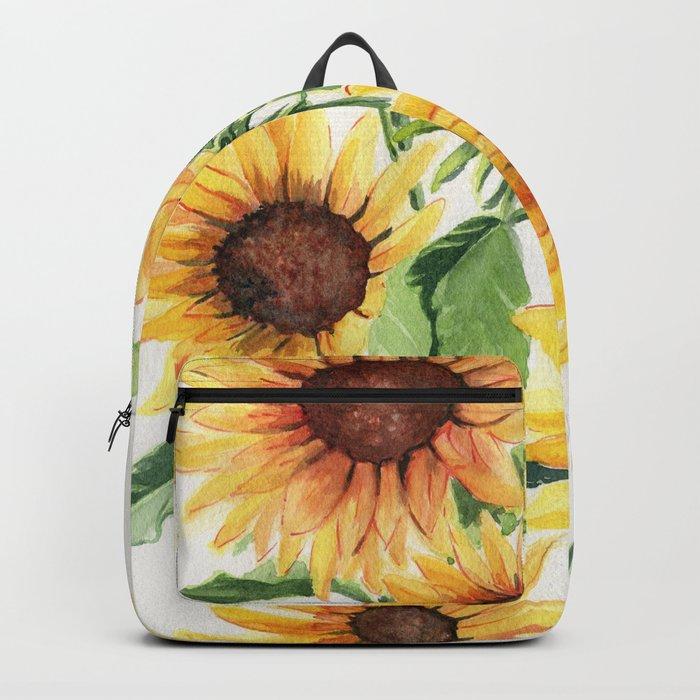Sunflowers Rucksack