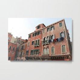 Old Building in Venezia Metal Print