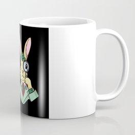 The Easter Bunny Chocolate Egg Inspector Coffee Mug