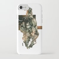 metal gear solid iPhone & iPod Cases featuring Metal Gear Solid 5 by Hisham Al Riyami