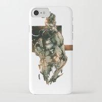 metal gear iPhone & iPod Cases featuring Metal Gear Solid 5 by Hisham Al Riyami