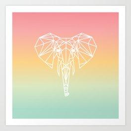 Elephant #20 Art Print