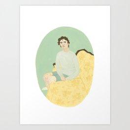 Naftali Art Print