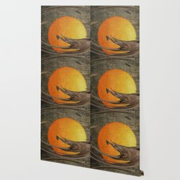 Golden orb Wallpaper