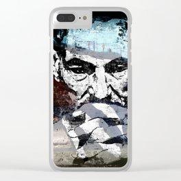 contemplation - original Clear iPhone Case