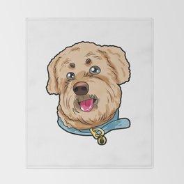 Soft Coated Wheaten Terrier Dog Doggie Puppy Gift Throw Blanket