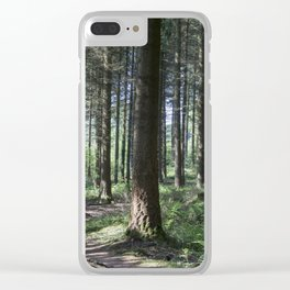 Light and Shade Clear iPhone Case