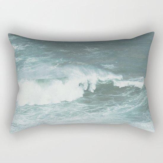 Faded sea Rectangular Pillow