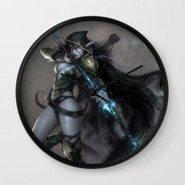 Drow Ranger Wall Clock