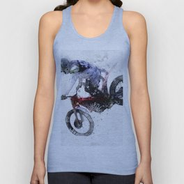 Nose Stand - Motocross Move Unisex Tank Top
