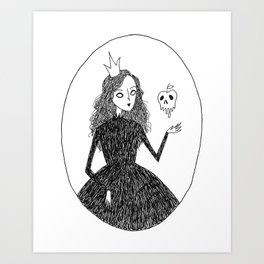 Royal Witch Art Print