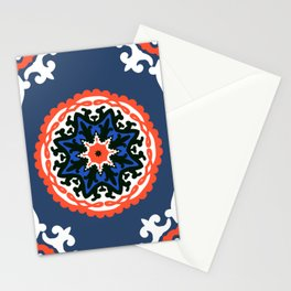 Bold and bright beauty of suzani patterns ver.6 Stationery Cards