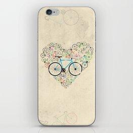 I Love My Bike iPhone Skin