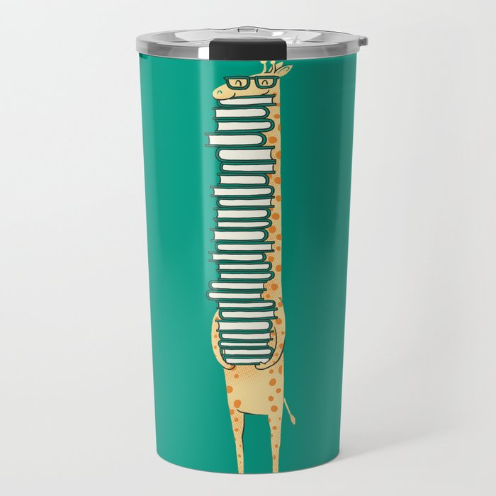 A book lover Travel Mug