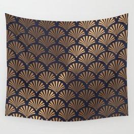 Art Deco Shell Pattern Wall Tapestry