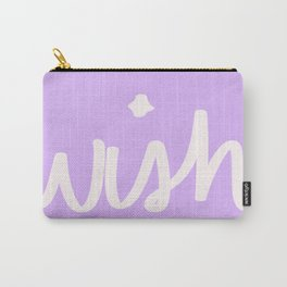 Wish on Purple Carry-All Pouch