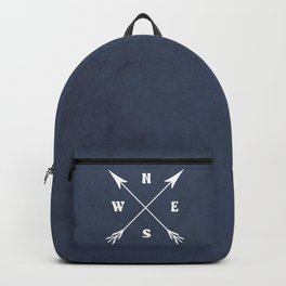 Compass arrows Backpack