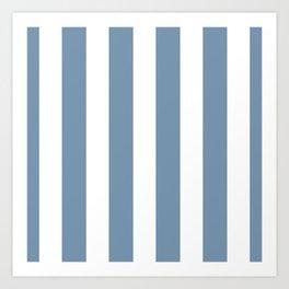 Navy Art Print