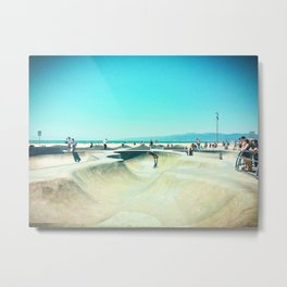 Summertime in Venice Beach Metal Print