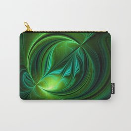 Elexir Of Life, Abstract Fractal Art Carry-All Pouch