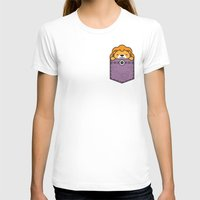 pocket T-shirts featuring Pocket Lion by Steven Toang