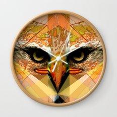 Eagle Eyes Wall Clock
