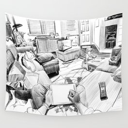 the living room Wall Tapestry